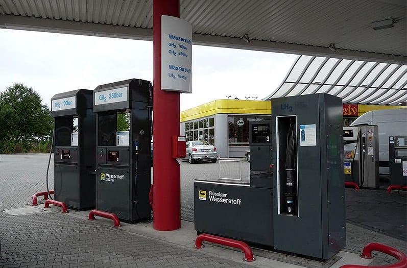 hydrogen refuelling station - hydrogen fuel station in Frankfurt