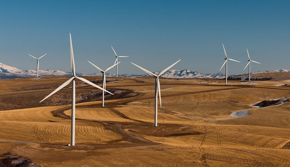 wind energy study - wind farm - wind turbines