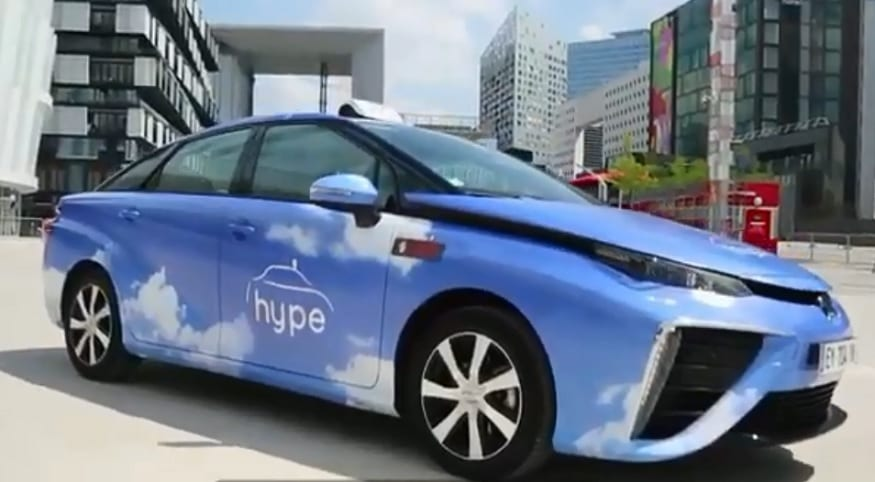 2018 Hydrogen - Hype Taxis France - The Wheel Network YouTube
