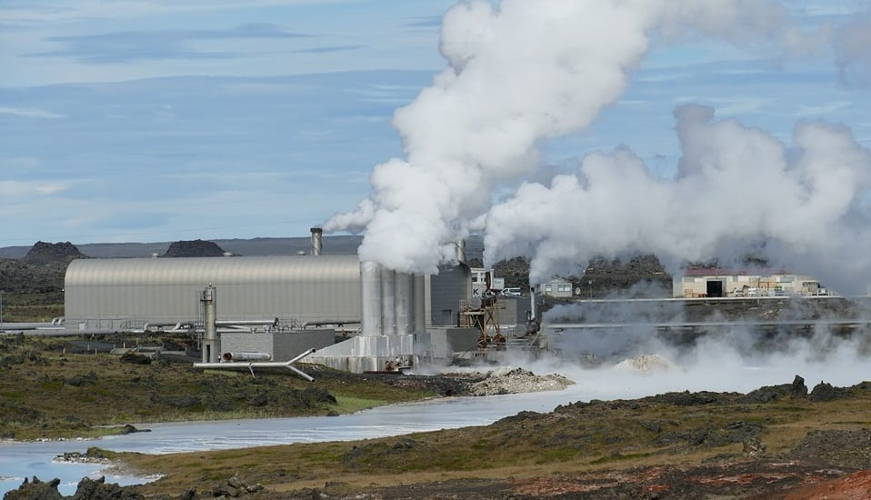 Geothermal heating project - Geothermal power plant