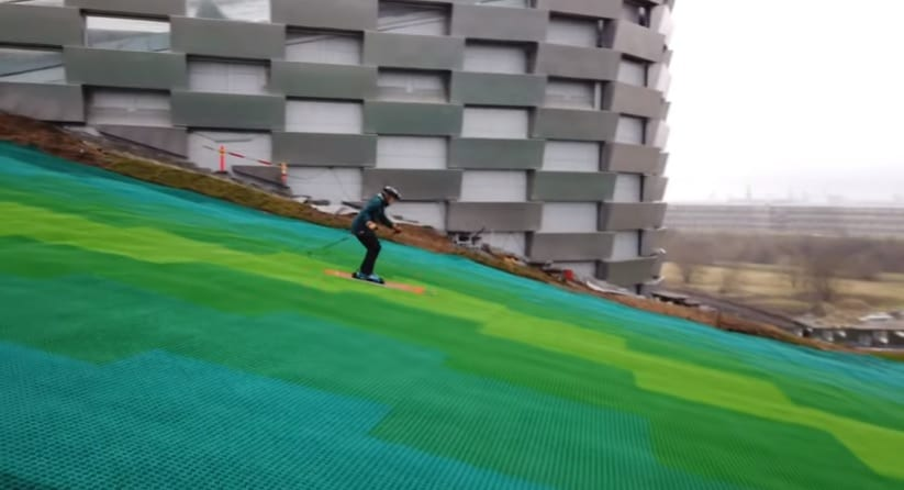 W2E ski slope in Copenhagen opens to skiers for testing