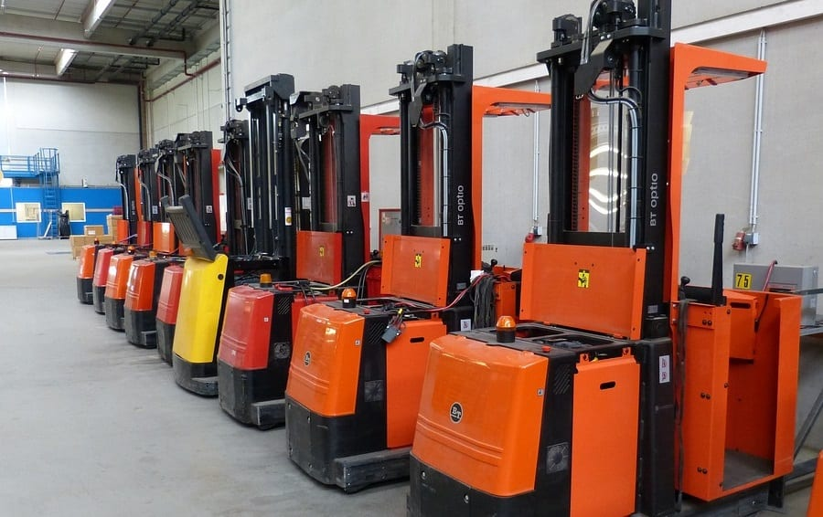Hydrogen fuel cell forklift launched by Linde Material Handling.