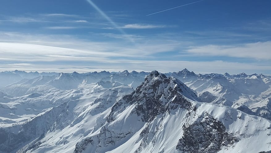New solar energy study finds that snowy mountaintops could be ideal for generating power
