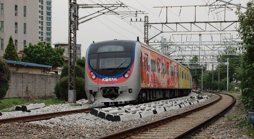 Hydrogen Railway Train - South Korea Train