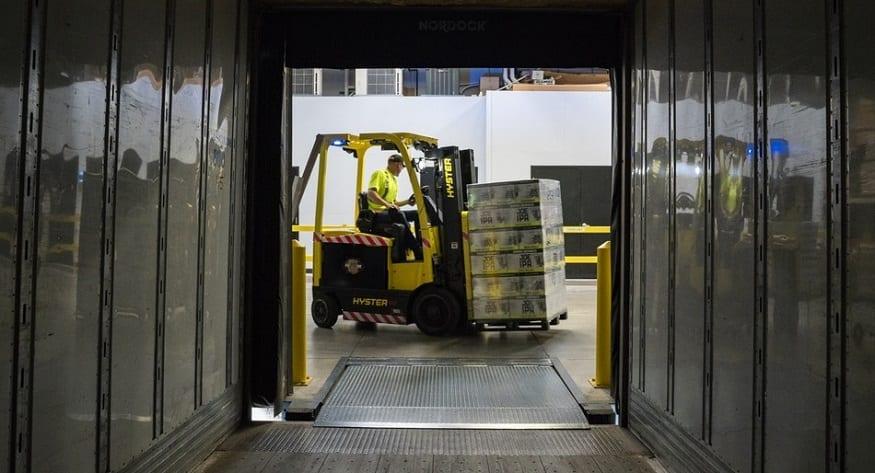 Hydrogen material handling equipment - Forklift