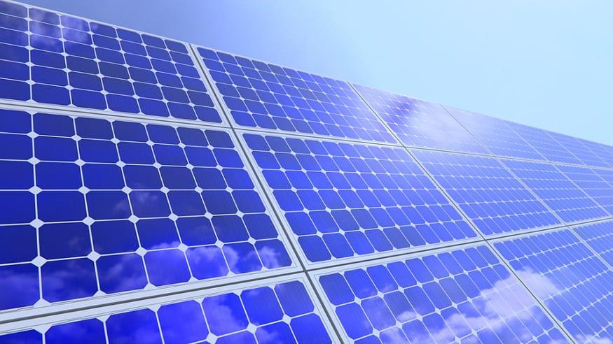 Solar canopy system - Solar panels