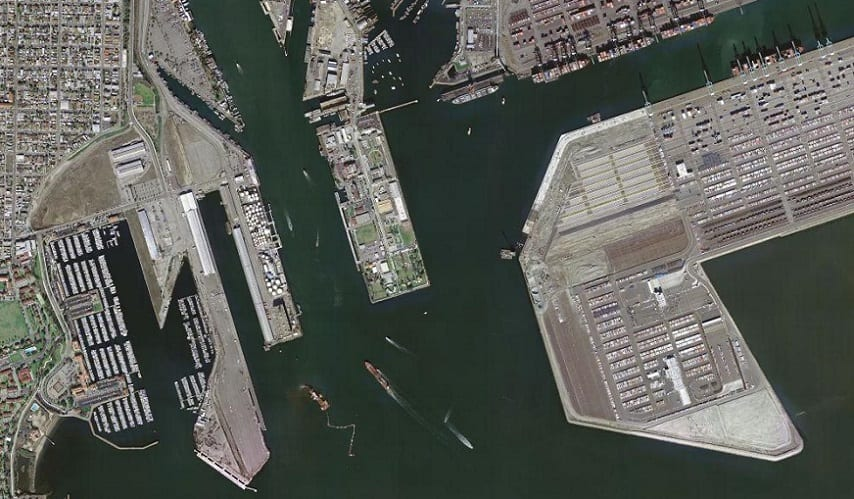 California fuel cell project - Port of Los Angeles