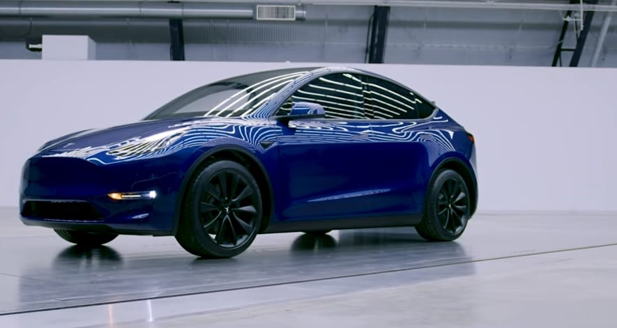Tesla Model Y SUV - Promo of Vehicle - Tesla YouTube