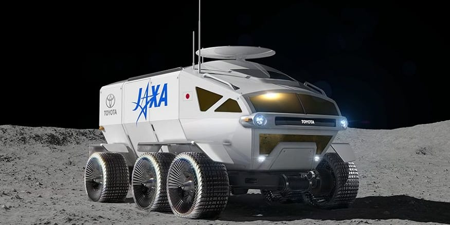 The Toyota hydrogen moon rover is no joke