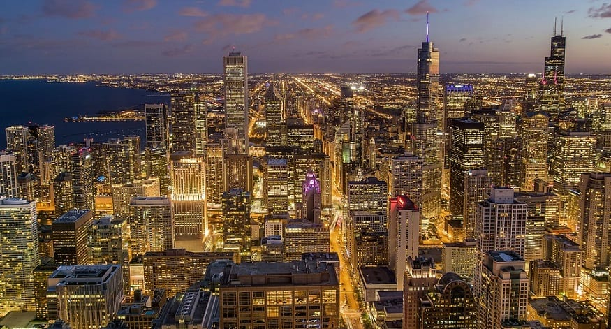 Chicago announces 100 percent renewable energy goal
