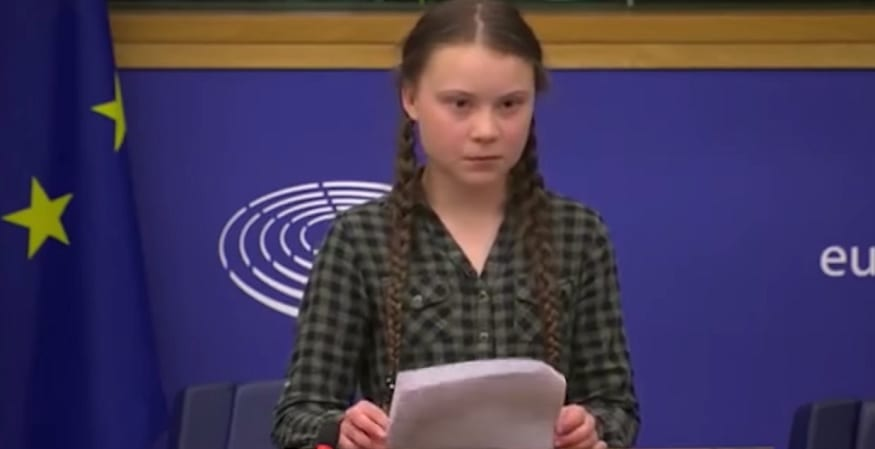 Climate Change Speech - Greta Thunberg - Guardian News YouTube