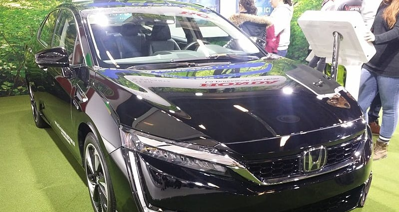 Honda 2019 Clarity Fuel Cell - SIAM 2019