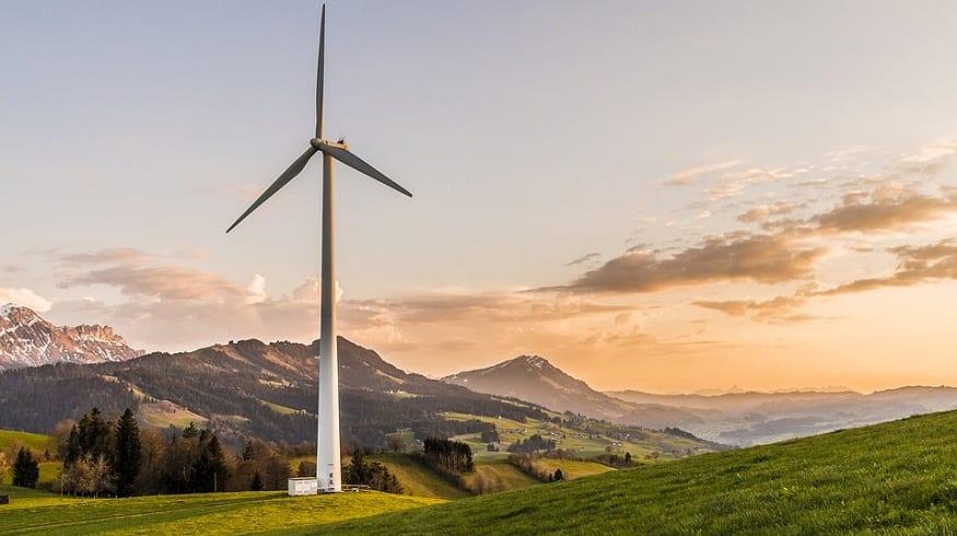 Renewable Energy Commitment - Wind energy turbiine