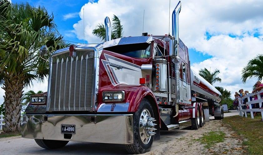 UPS hydrogen truck - Kenworth big rig