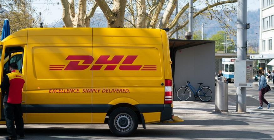 HFC delivery vans - DHL Van