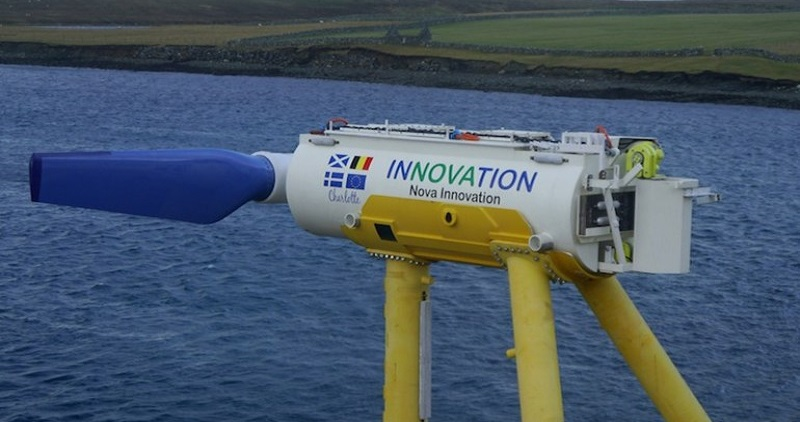 Tidal Energy Project - Image Nova Innovation