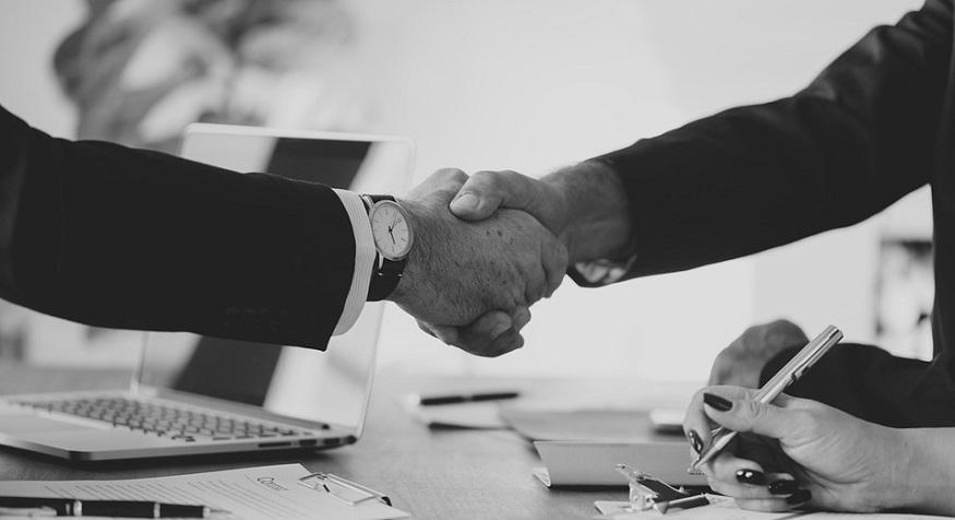 renewable energy partnership - handshake - business