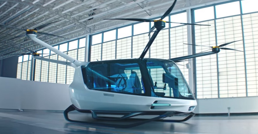 Alaka'i unveils full-scale model of hydrogen fuel cell flying vehicle
