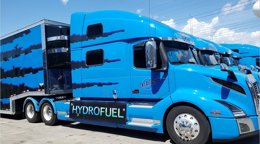 NH3 Fuel - Hydrofuel truck - Hydroful Inc. Press Release