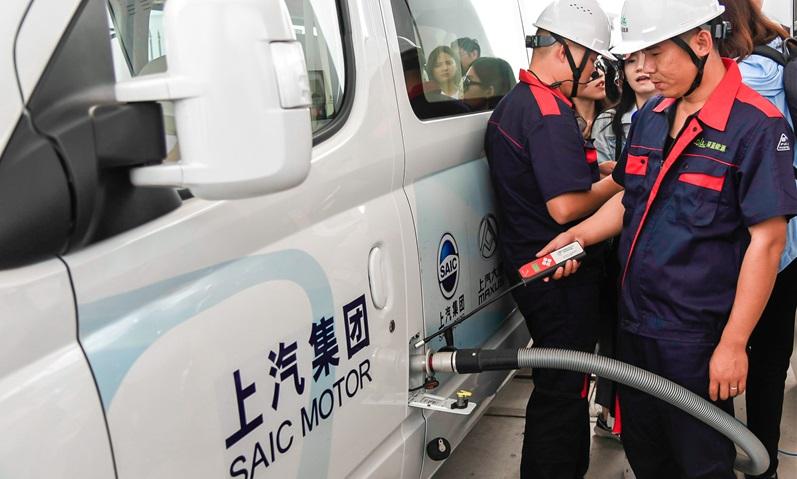 Shanghai Hydrogen Refueling Station - SAIC Motor