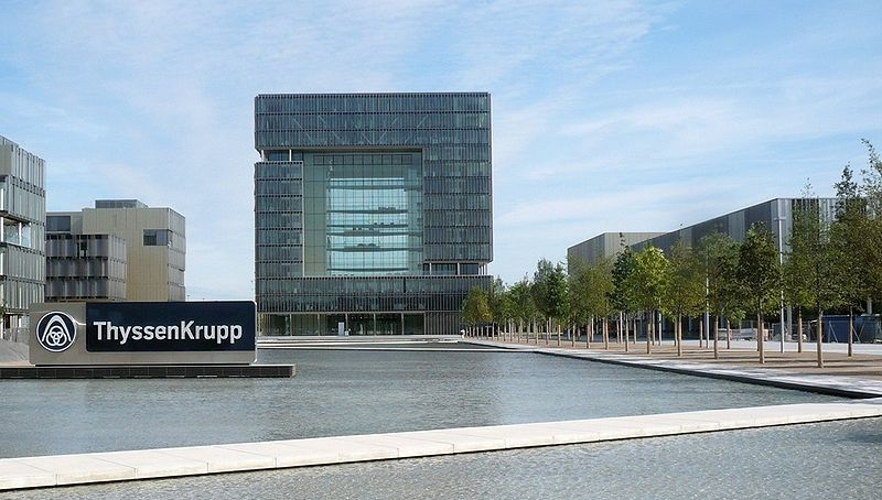 Climate neutral - ThyssenKurpp headquarters