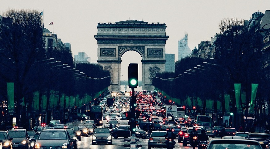A Paris car ban has gone into effect as pollution worsens in the city