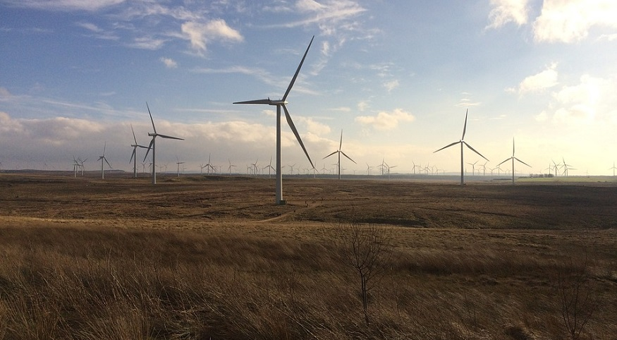 Scotland Wind Energy - Whitlee Wind Farm