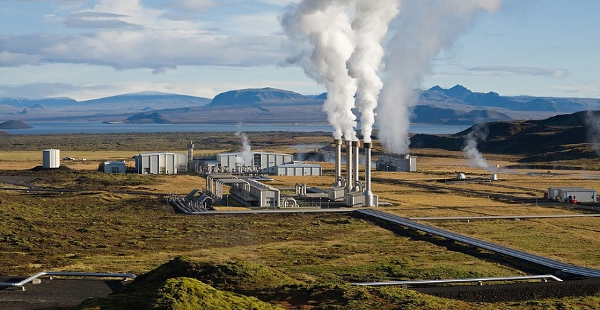 Hybrid geothermal energy - geothermal power plant