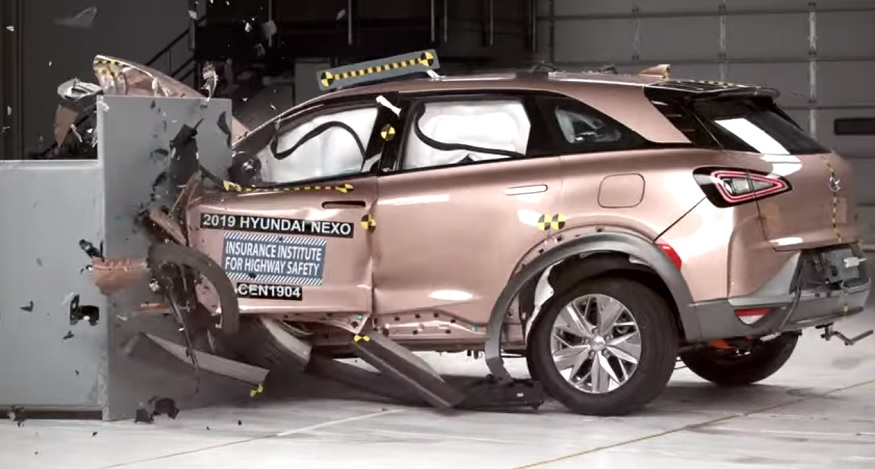 Iihs Tests Hyundai Nexo Safety Gives Vehicle Its Top Safety Pick Honor Hydrogen Fuel News