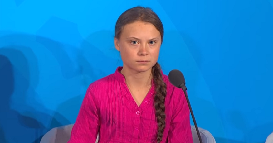 Greta Thunberg speaks at 2019 UN Climate Action Summit - CBC YouTube