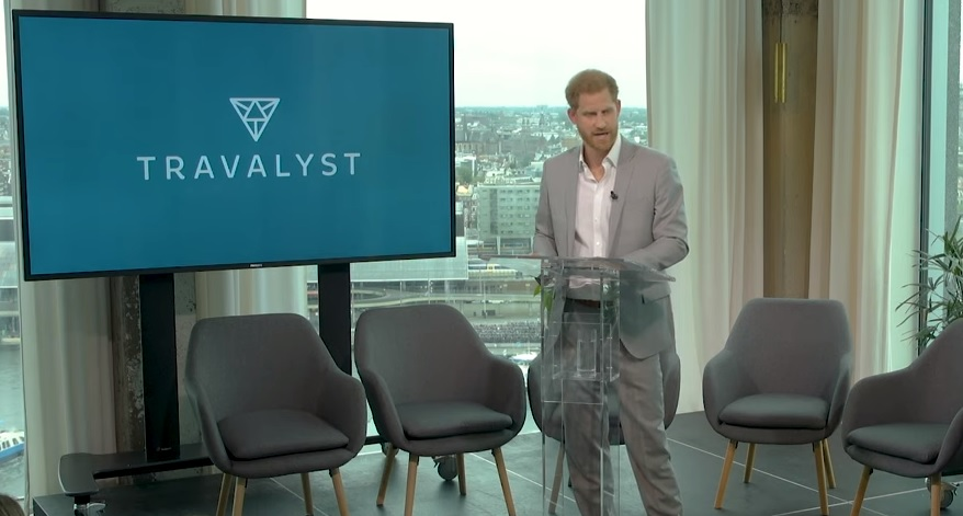 Prince Harry unveils travel sustainability initiative Travalyst in Amsterdam