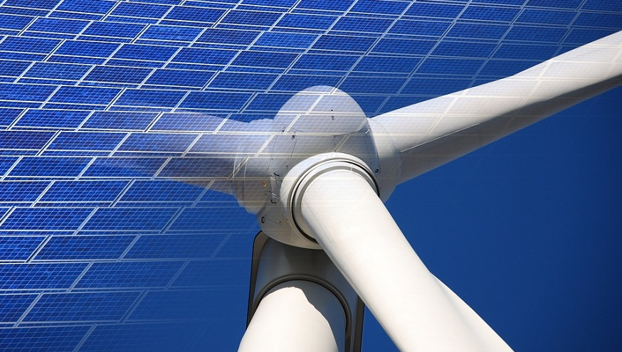 Renewable energy goal - Wind and Solar