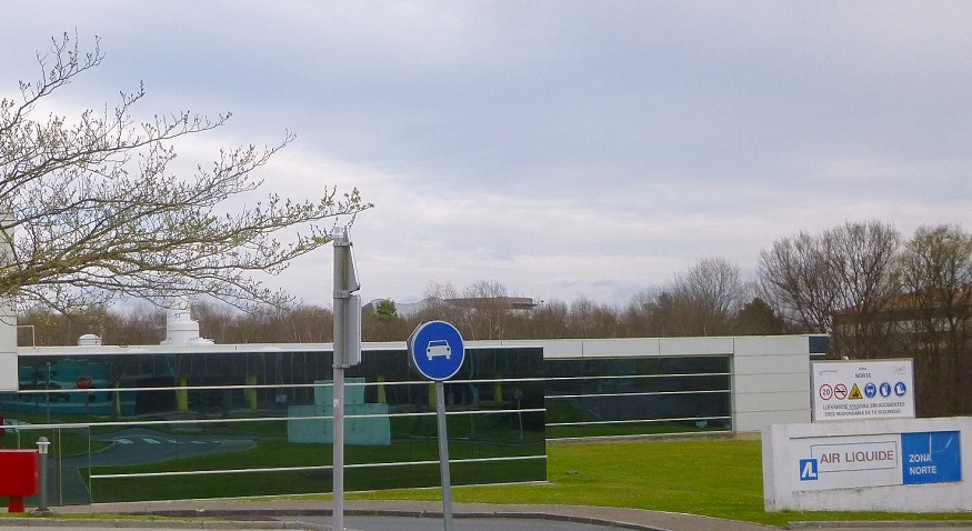 Sustainable technologies - Air Liquide plant