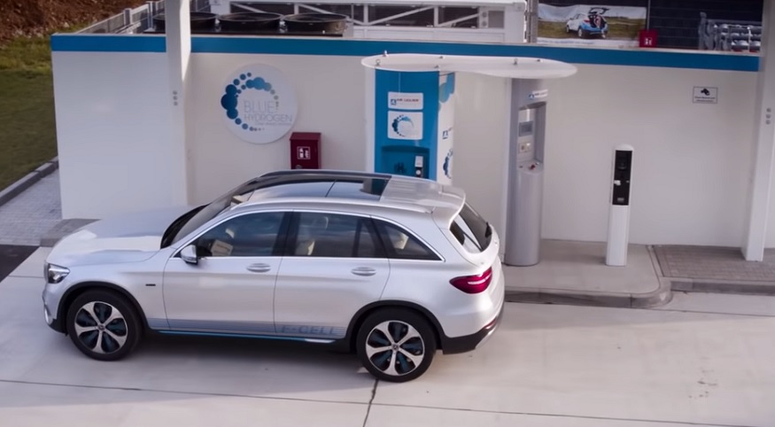 Mercedes-Benz GLC F-CELL features an entirely new fuel cell system