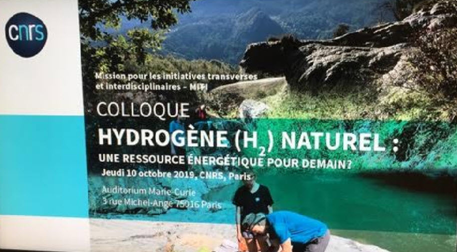 Conference in Paris revealed a much larger supply of natural hydrogen than once thought