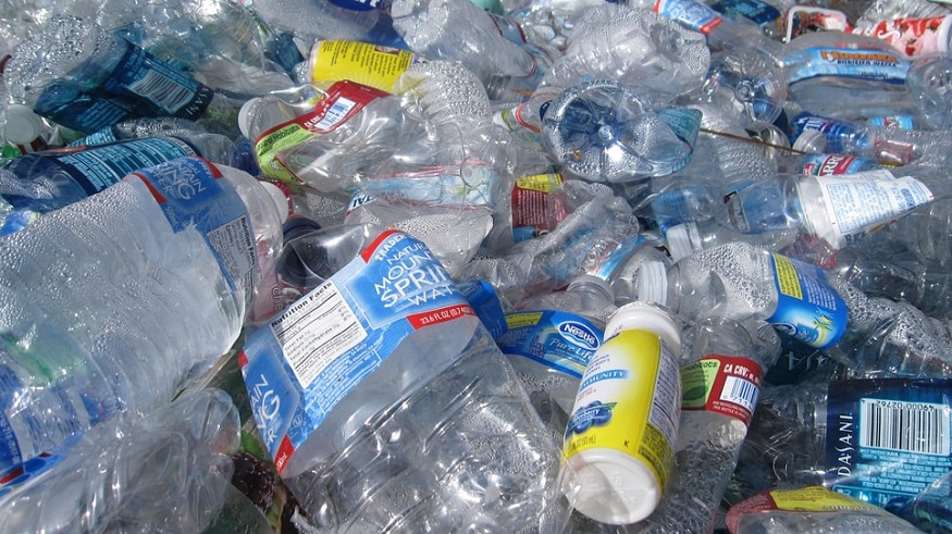 Plastic bottle recycling - plastic waste