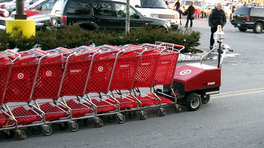 Target Renewable Electricity Goals - Target shopping carts