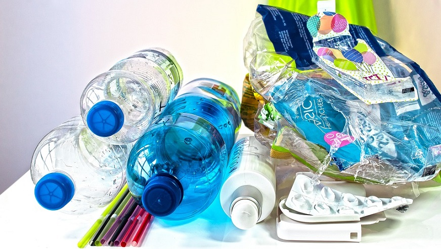 plastic chemical recycling - plastic waste