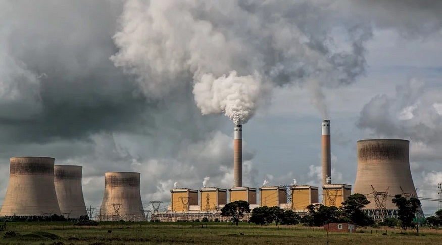 UN Climate Change Report - Coal Power Station