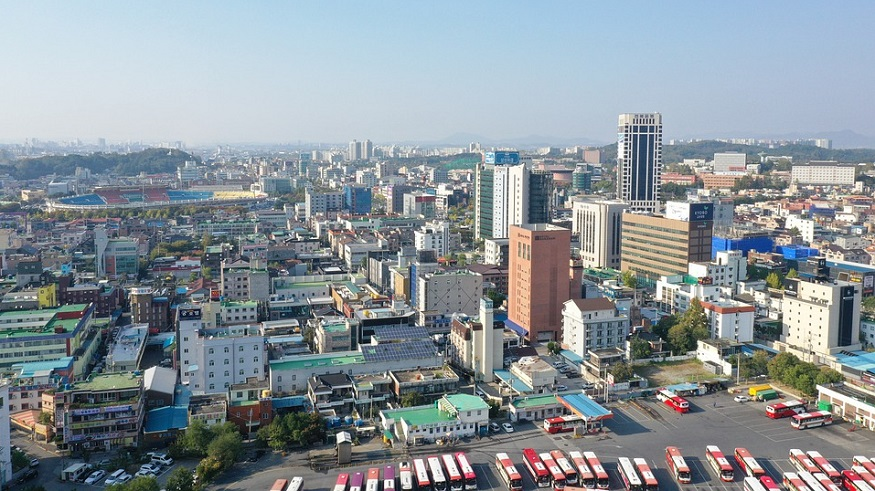 hydrogen cities - City in South Korea