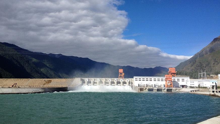 hydropower GHG emissions - hydroelectric facility