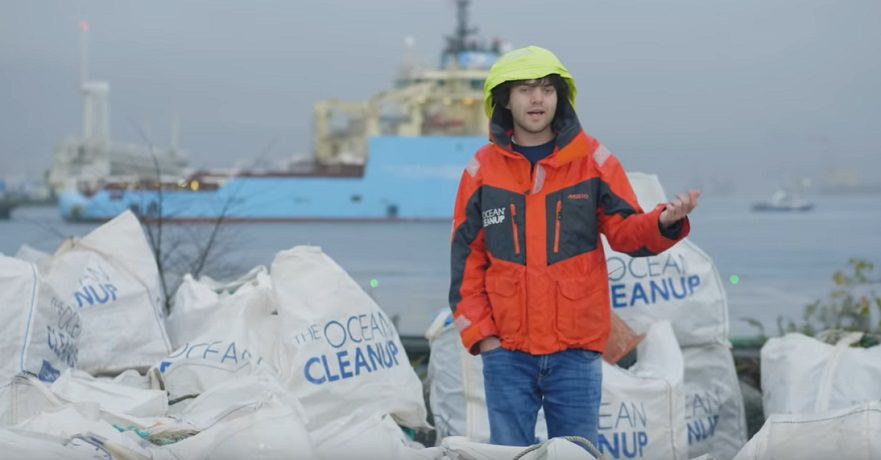 Boyan Slat - The Ocean Cleanup YouTube