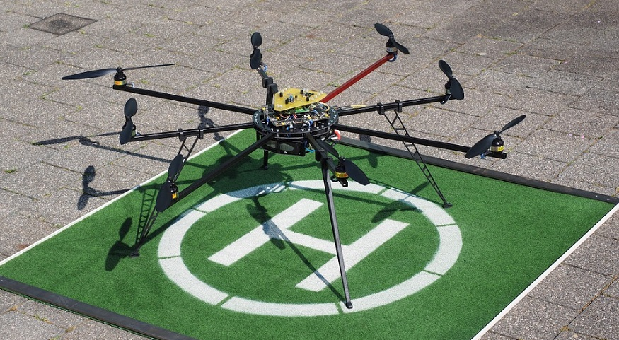 Hydrogen Octocopter - Drone helicopter