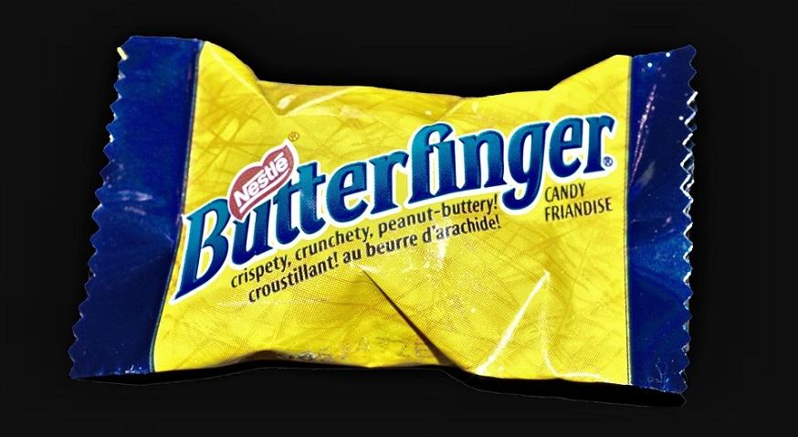 Recycled plastics -Nestlé Butterfingers