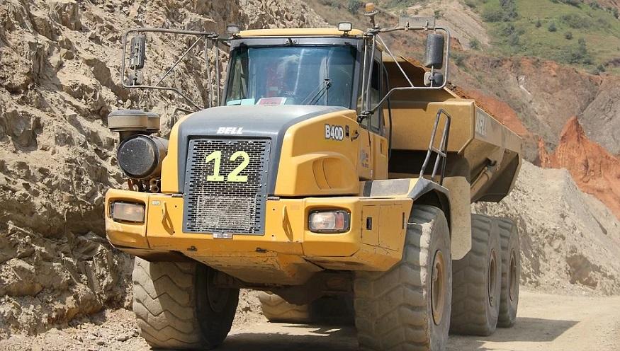 Hydrogen Fuel Cell Mine Truck - Haul Truck