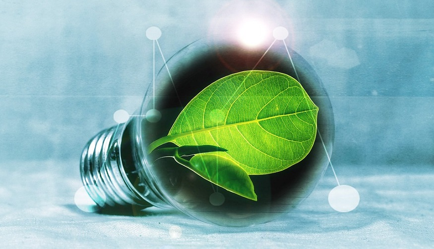 National Hydrogen Strategy - Light Bulb - Green