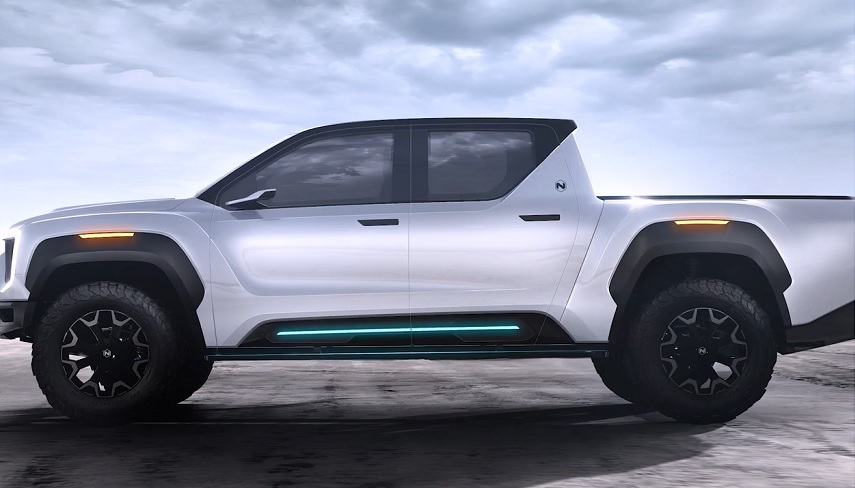 Nikola Badger FCEV truck unveiled as Tesla Cybertruck rival