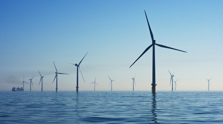 green hydrogen production - offshore wind farm