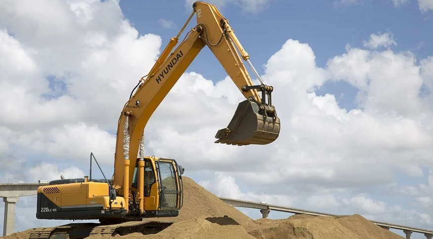 Hydrogen Fuel Excavators - Hyundai excavator power shovel