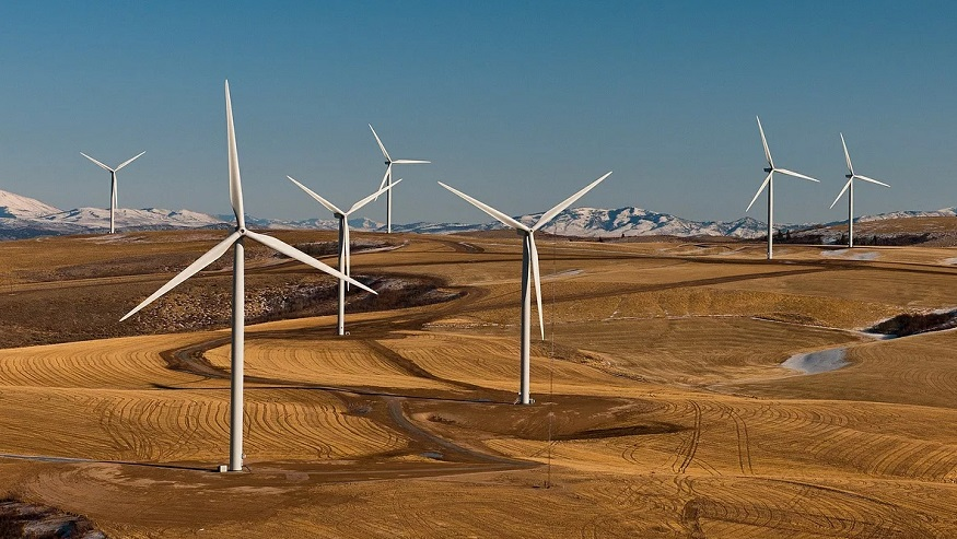 Idaho wind farm